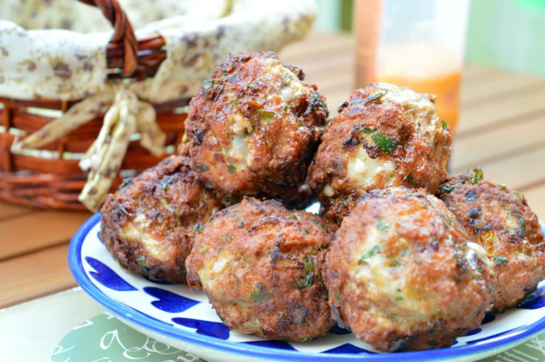 Parmesan Cheese & Parsley Meatballs
