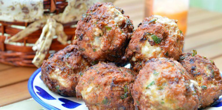 Parmesan Cheese & Parsley Meatballs