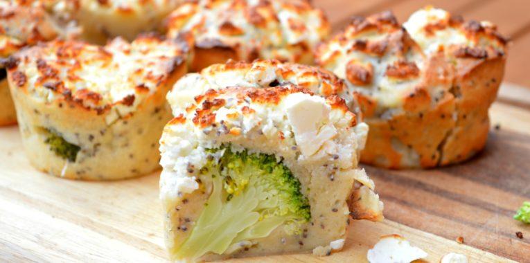 Broccoli & Chia Seeds Muffins
