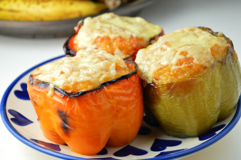 MM: Stuffed Peppers with Couscous