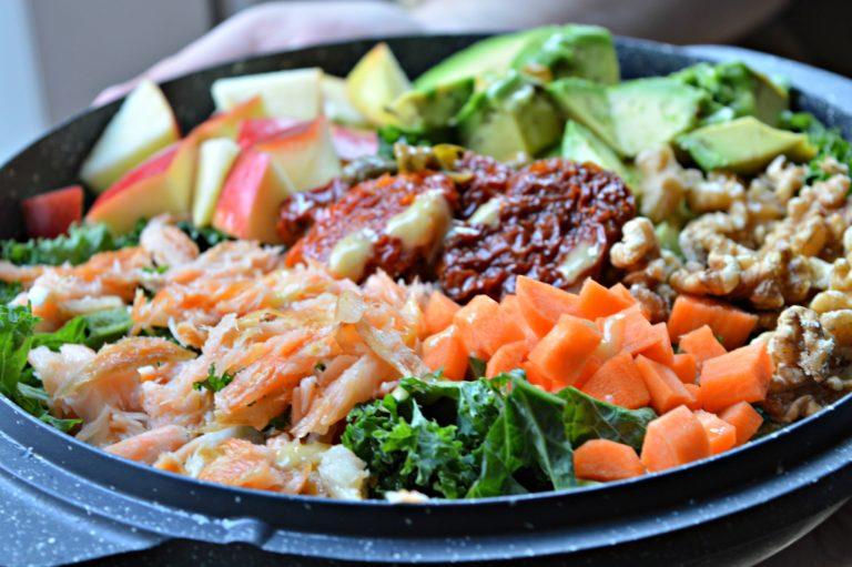 Smoked Salmon Kale Salad