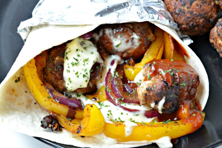 Turkey Meatball Fajita