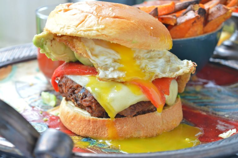 Turkey Breakfast Burgers