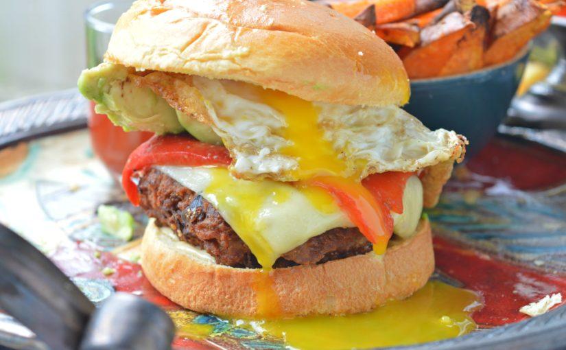 Turkey Breakfast Burgers