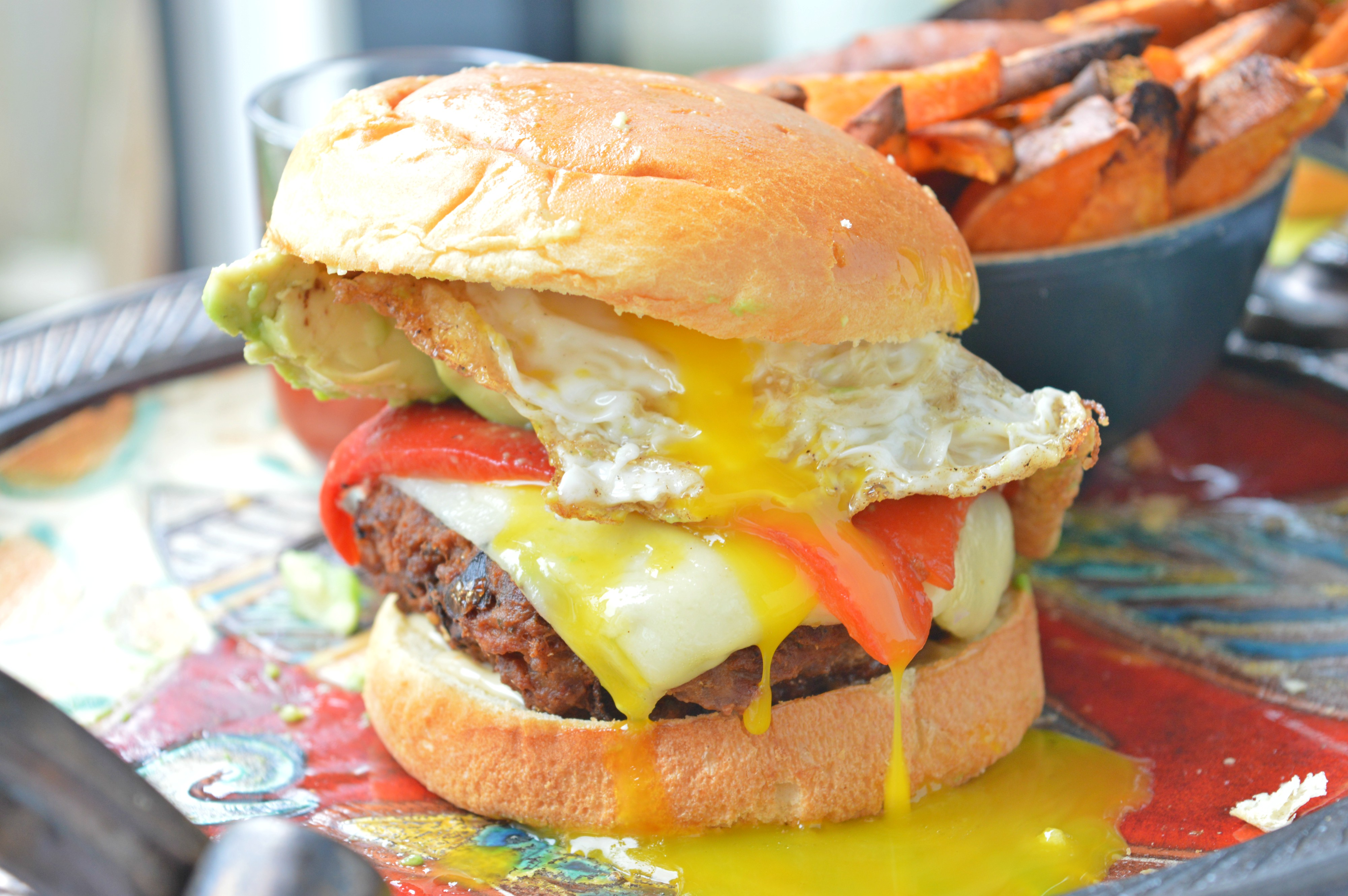 Turkey Breakfast Burger