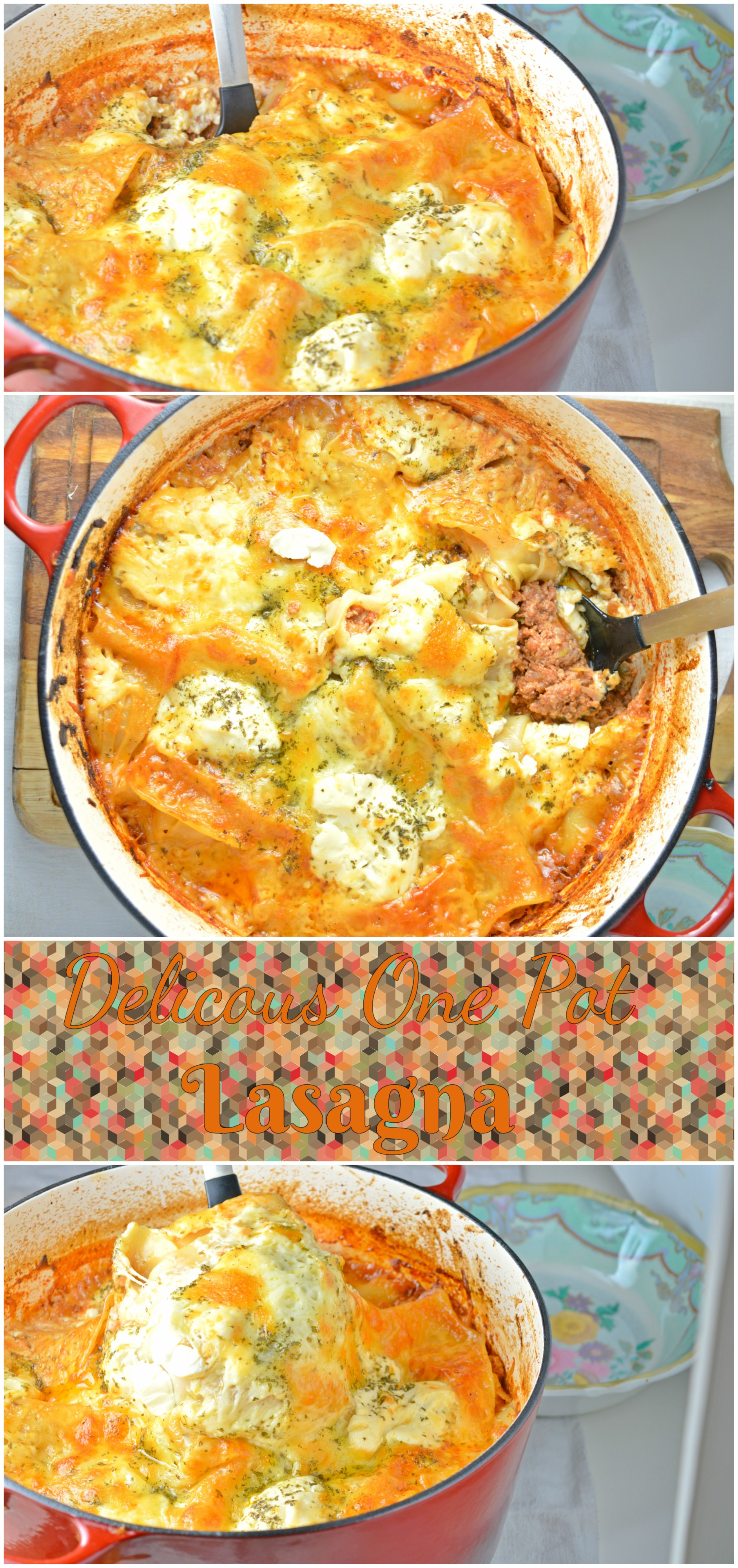 Delicious One Pot Lasagna